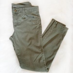 {a.n.a} Olive Green Skinny Jeggings Pants